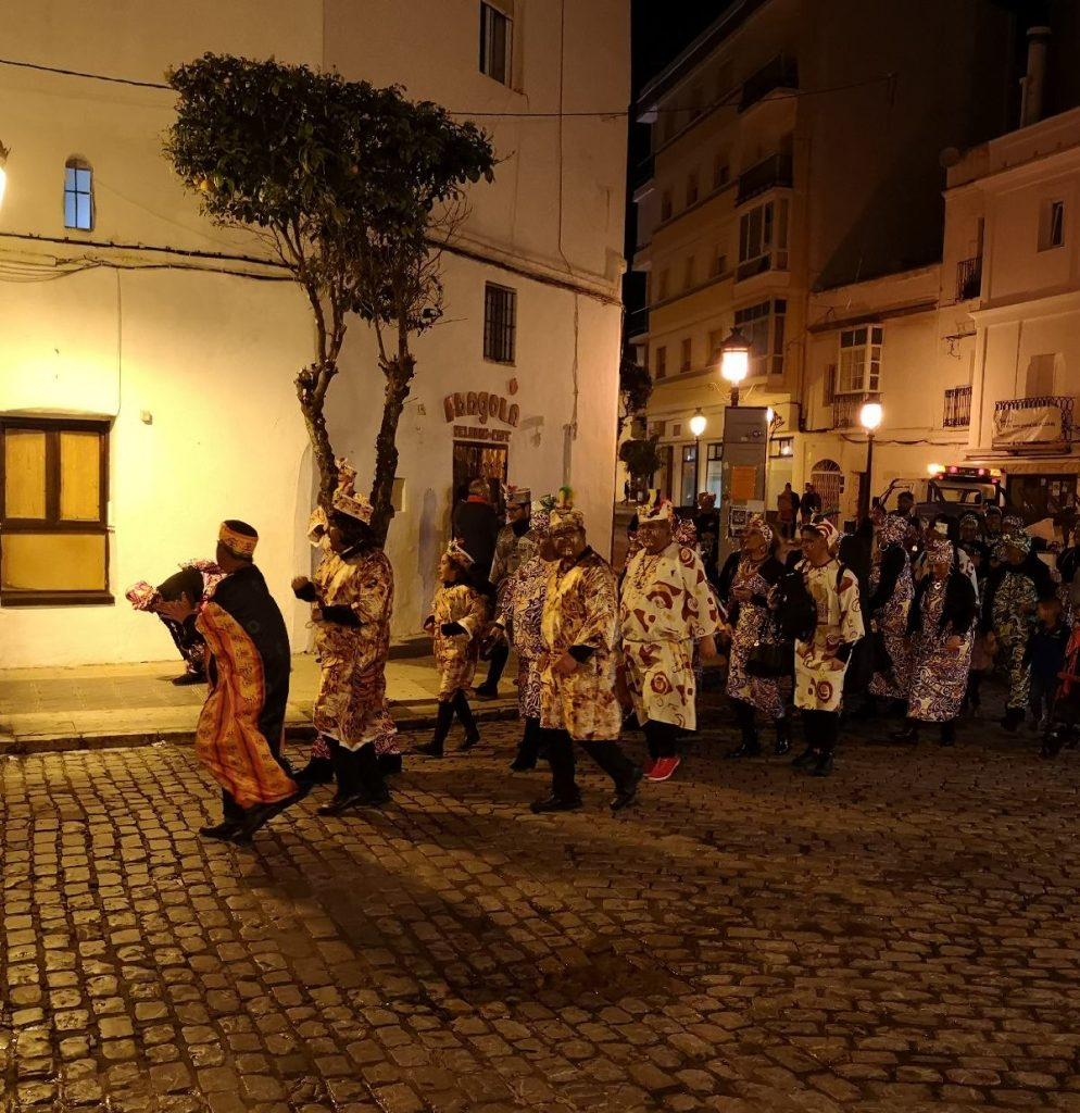 Carneval in the streets of Tarifa.