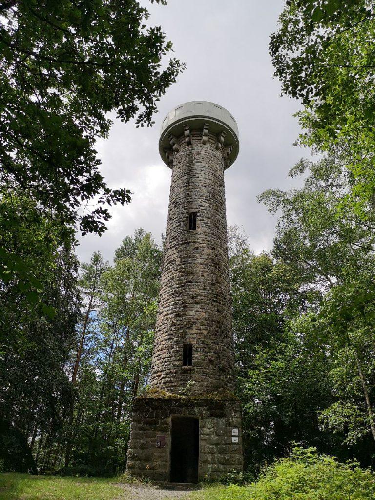 Der Lukas Cranach Turm im Frankenwald