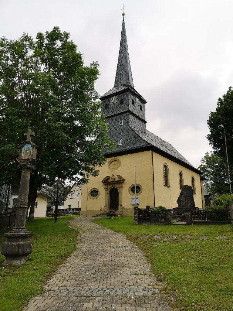 Wallfahrtskirche in Haßlach