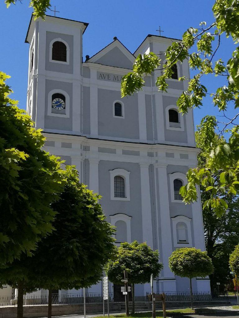 Die Wallfahrtskirche in Fuchsmühl