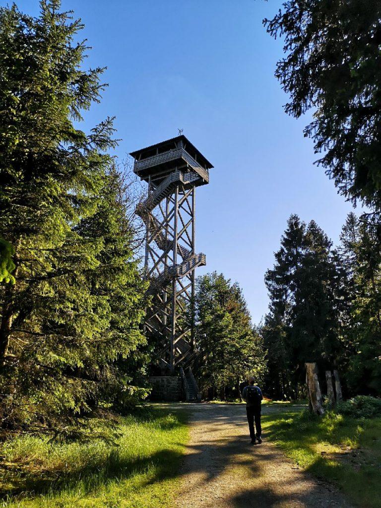 Die Platte mit dem Oberpfalzturm