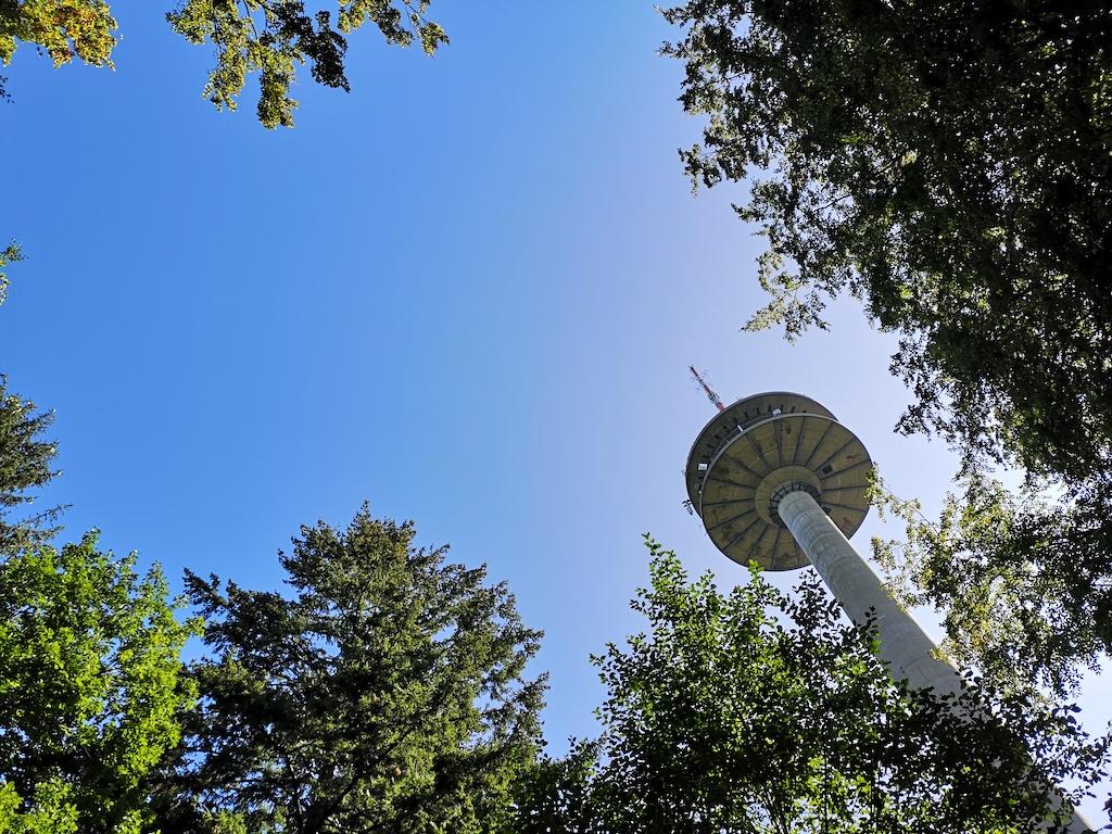Der Fernmeldeturm Burgwindheim