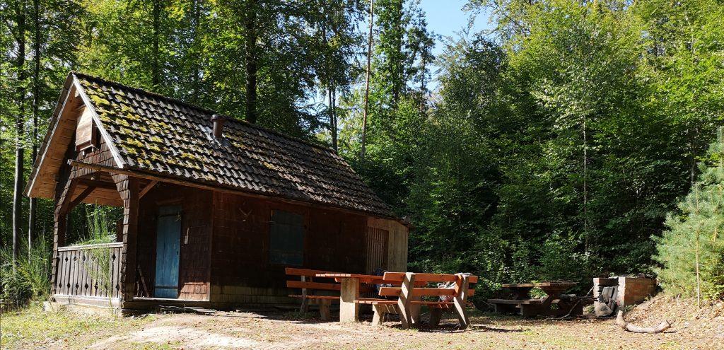 Trekkingplatz Pfaffenwiese im Steigerwald