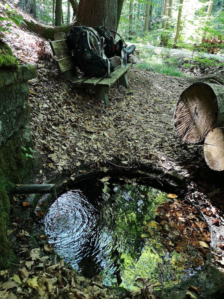 Quelle bei Schrappach