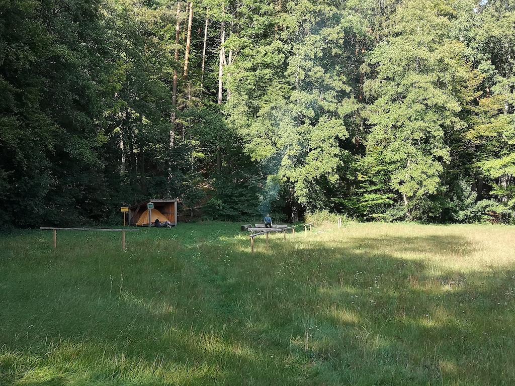 Still liegt der Trekkingplatz Friedlein
