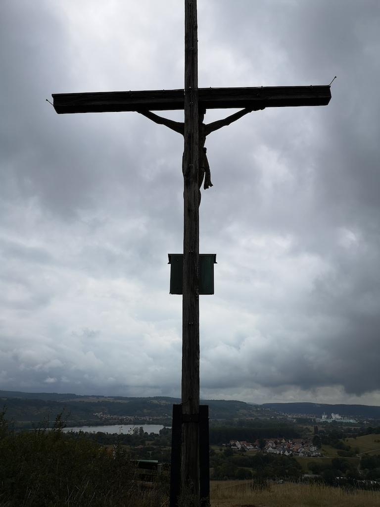 Gipfelkreuz am Spitzberg