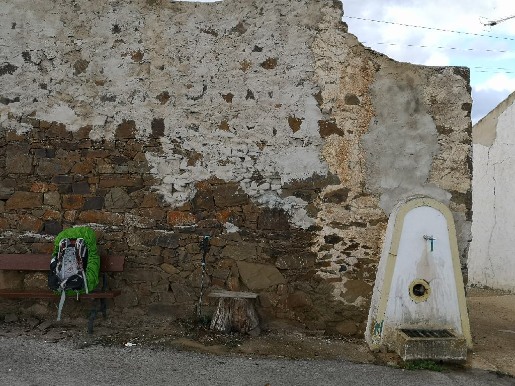 Wasserstelle in den kleinen Orten