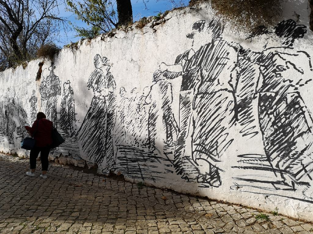 Alte Wandgemälde