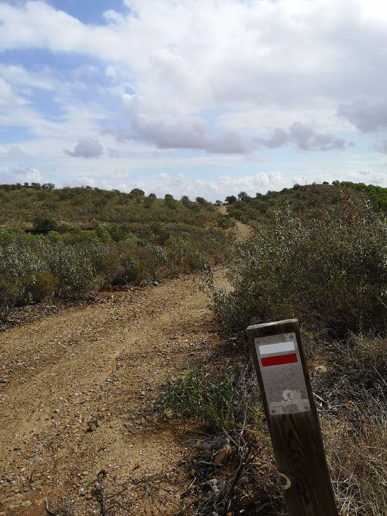 Erste Etappe auf dem Via Algarviana