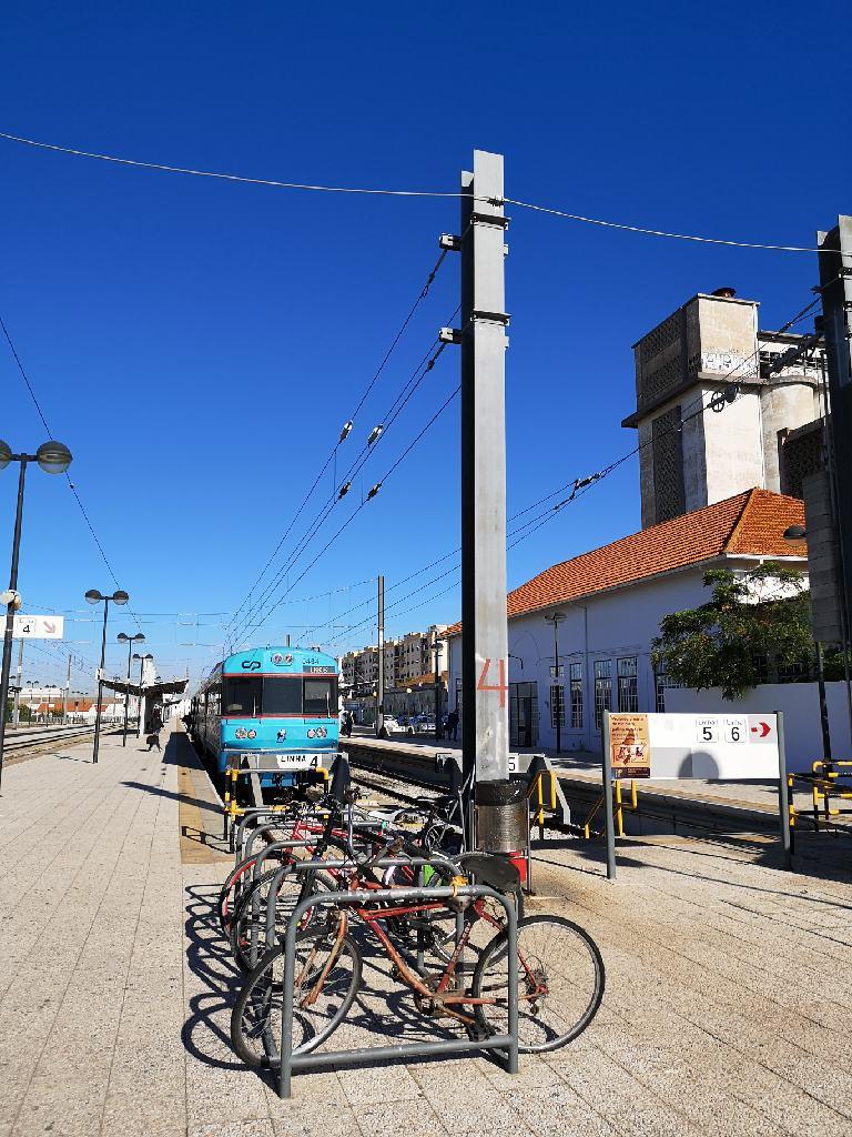 Der Bahnhof von Faro