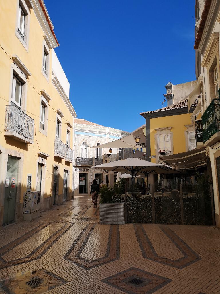 Die Innenstadt von Faro