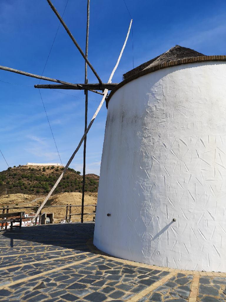 Windmühlen in Andalusien
