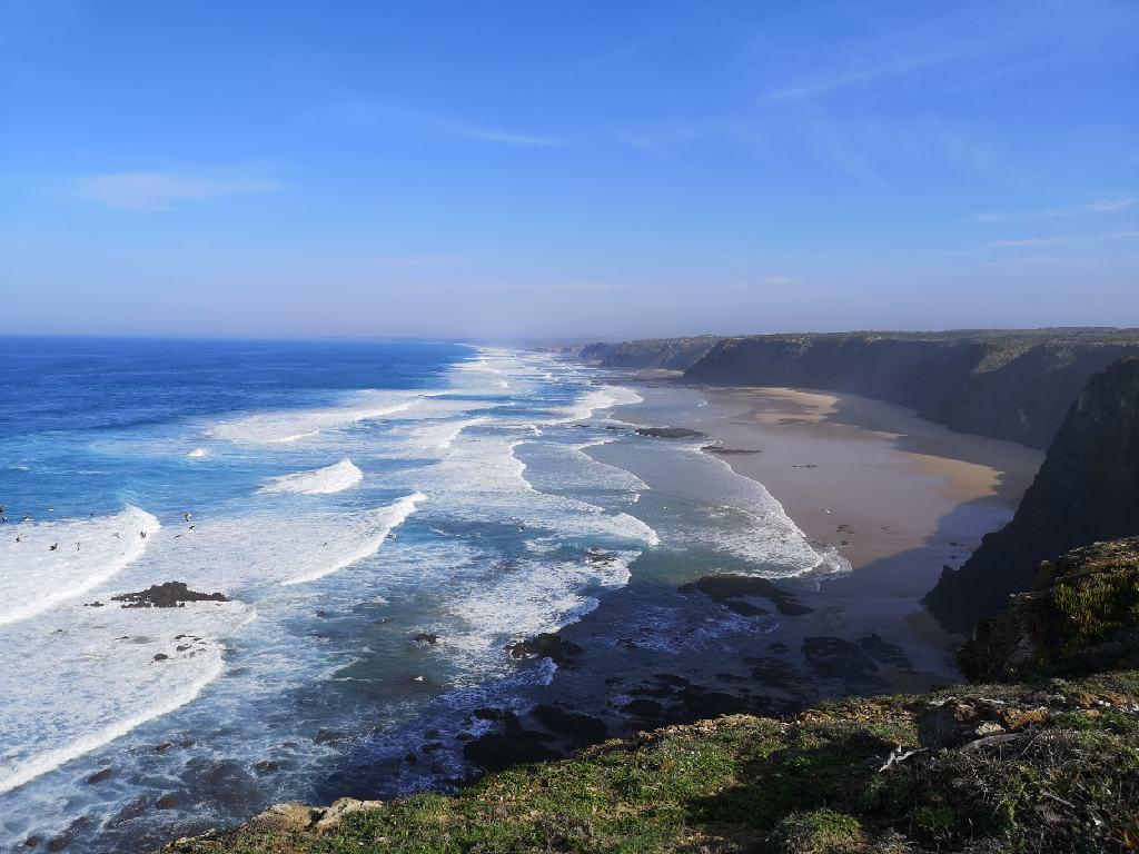 Küste am Rabat da Arrifana