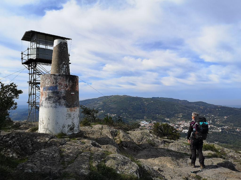 Feuerwarte auf dem Picota