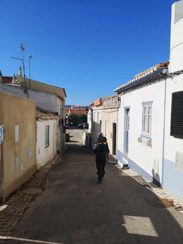 Strasse in Vila do Bispo