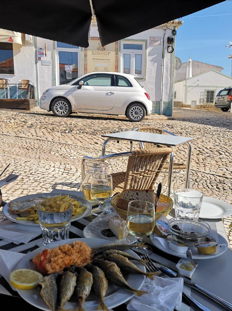 Leckeres portugisisches Essen