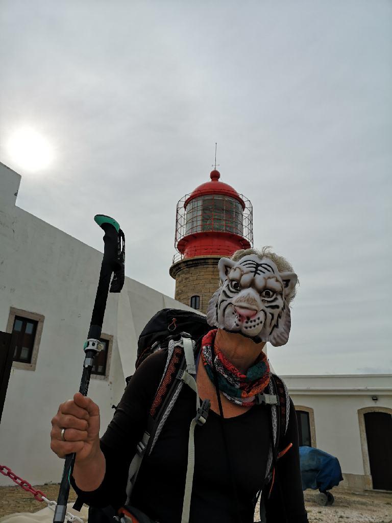 Finale Via Algaviana am Cabo de São Vicente