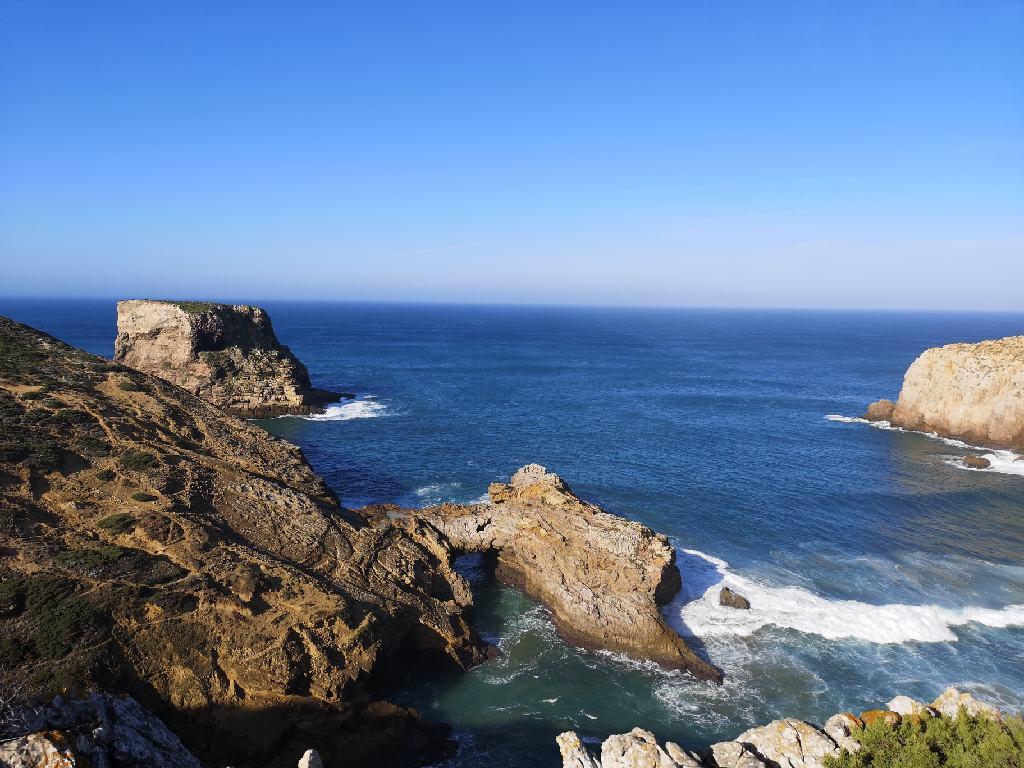 Steilküste erste Etappe Fischerweg