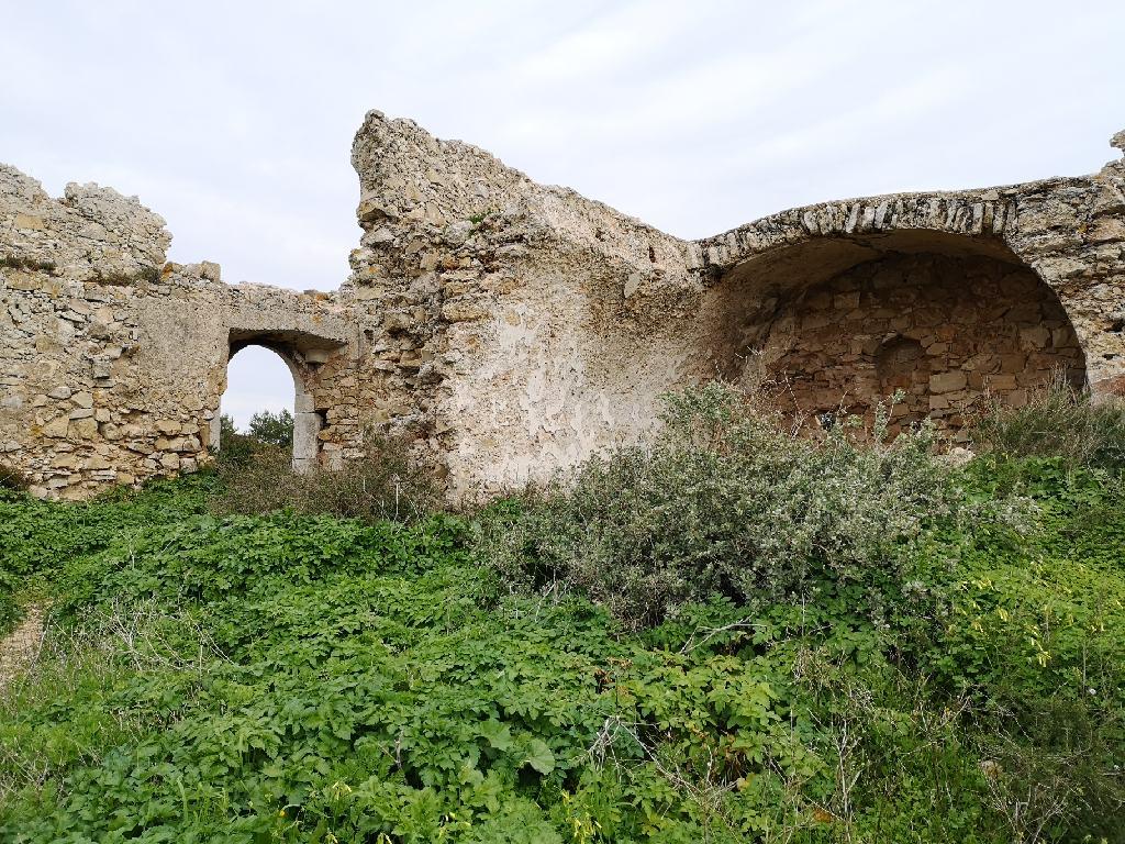 Die Ruinen Forte de Almádena