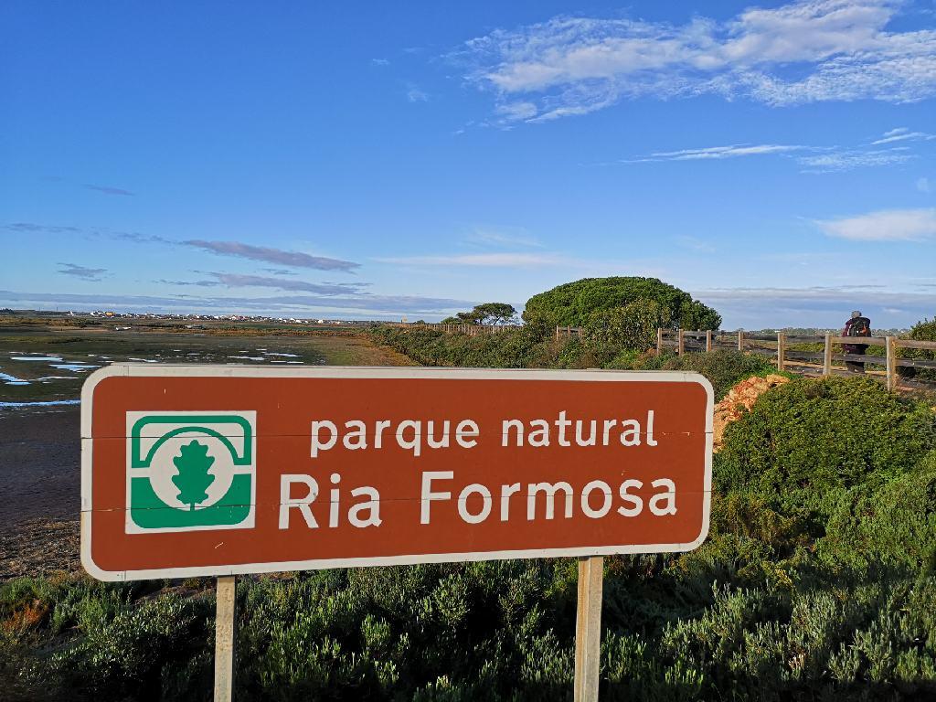 Parque natural Ria Formosa