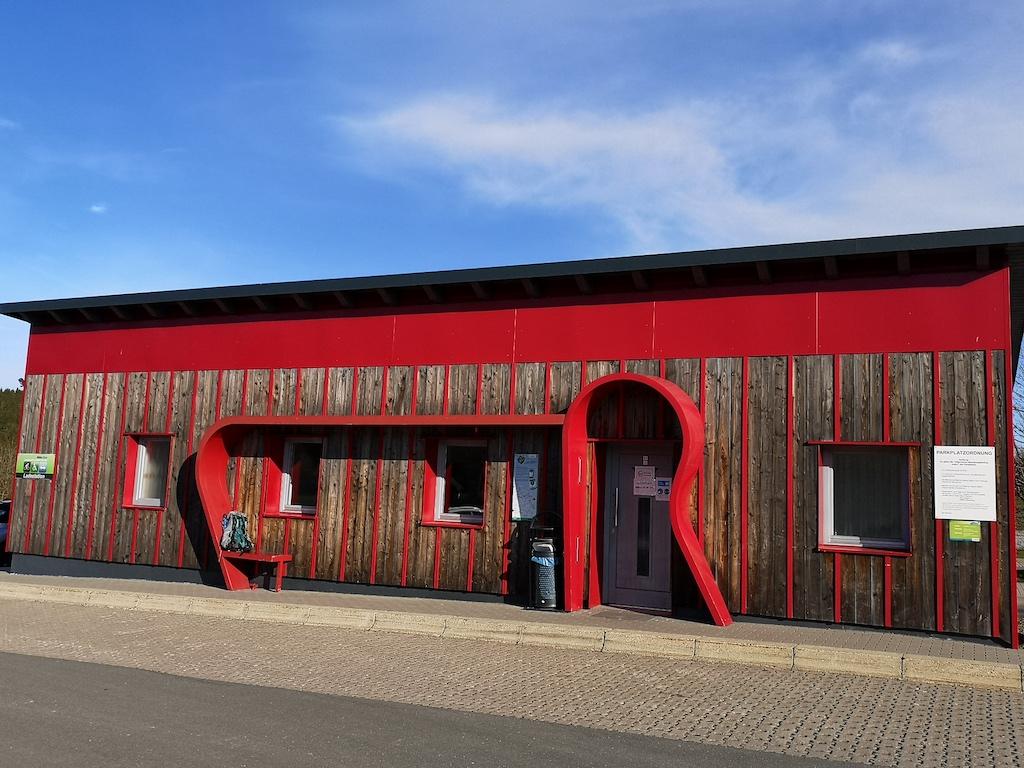 Das Rennsteighaus in Masserberg