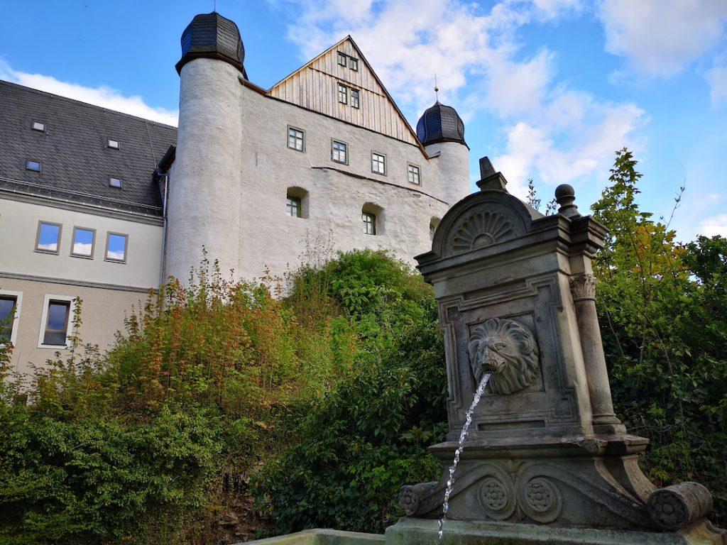 Die Schloss Schwarzburg