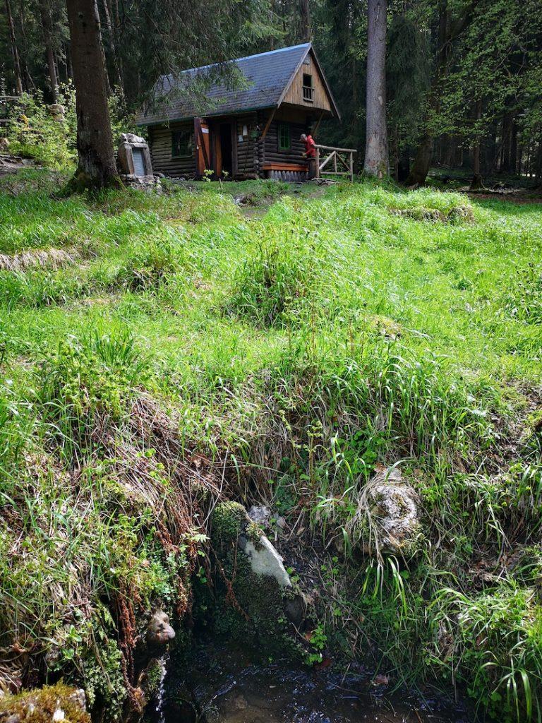 Hütte auf dem Wurzelberg