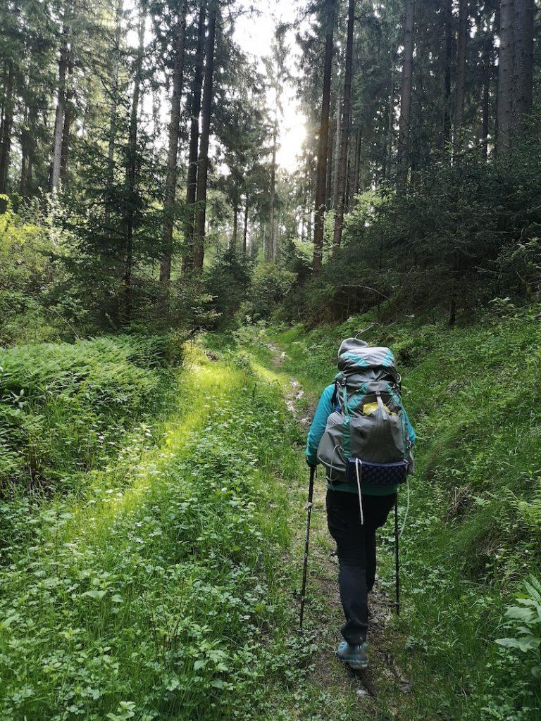 Auf dem Totenweg von Altenfeld nach Großbreitenbach