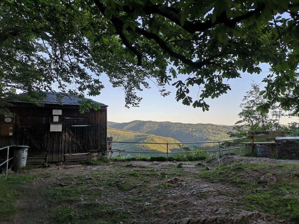 Schutzhütte auf dem Trippstein