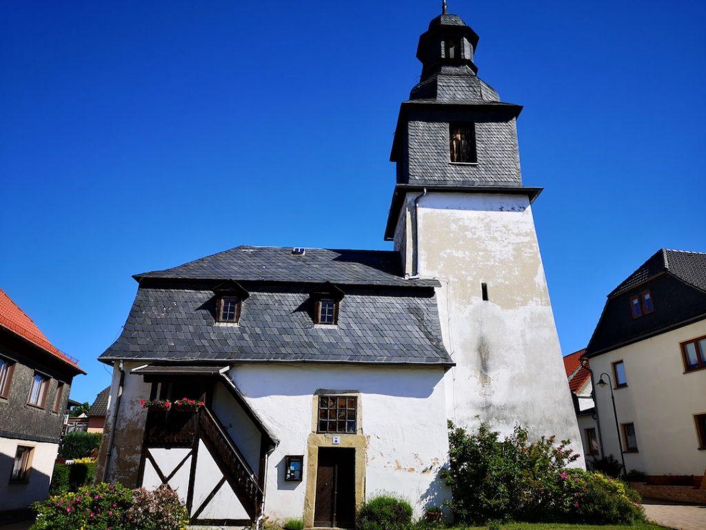 Die Dorfkirche von Cordobang