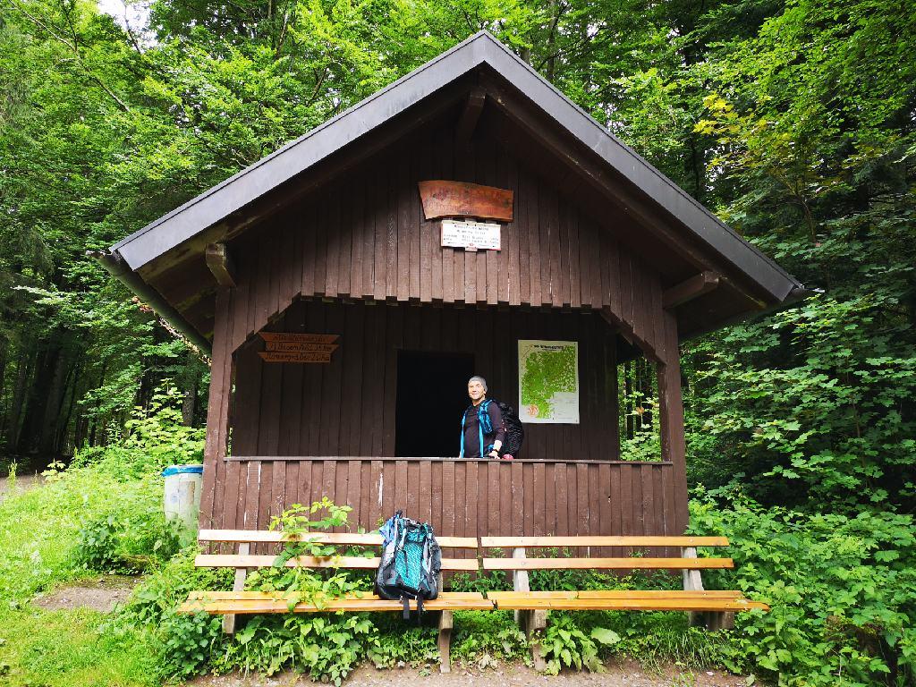 Hütten im Nordschwarzwald