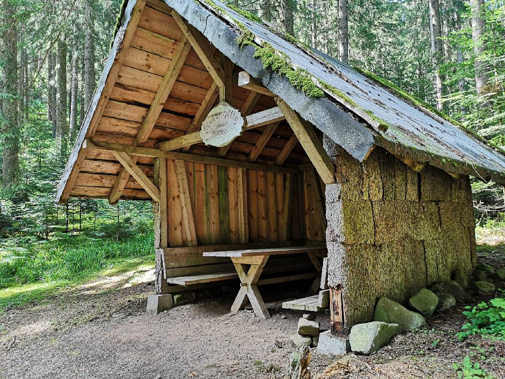 Die Rindenhütte
