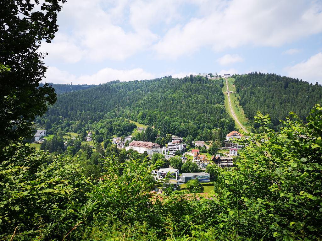 Blick auf Bad Wildbad