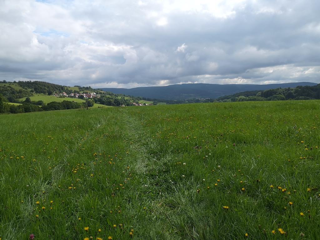 Ehemaliges Grenzland in der Rhön
